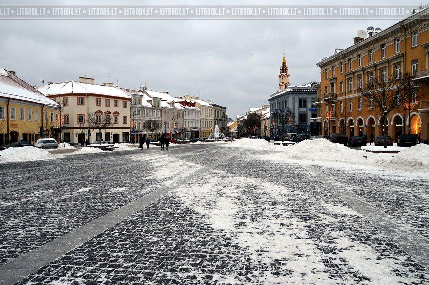 Ратуша и Ратушная площадь Вильнюса