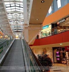 Эскалаторы в ТЦ Ozas (Озас)