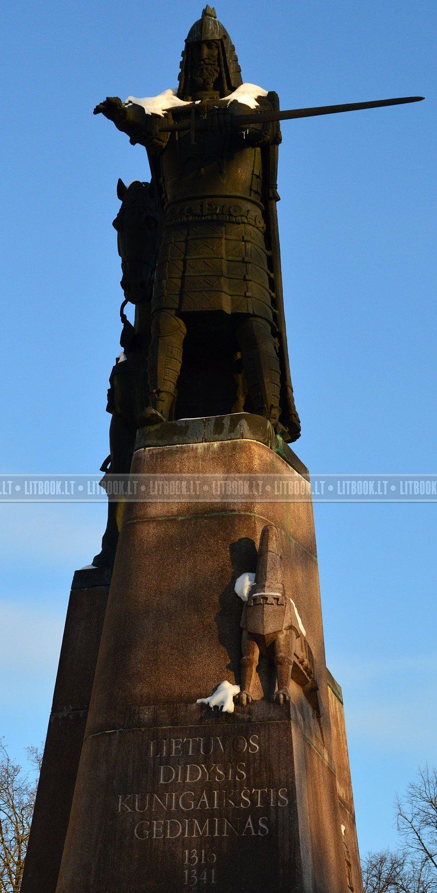 Памятник Гедемину