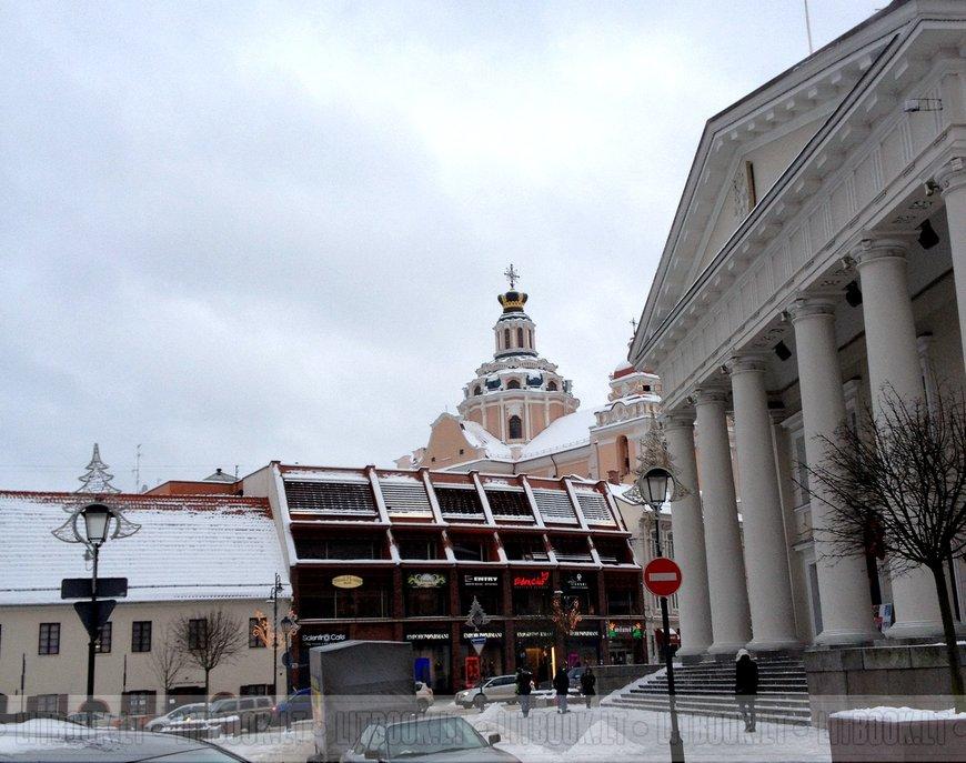 Костёл Святого Казимира - виден купол
