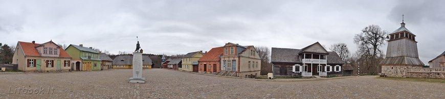 Стилизованная Литовская деревня