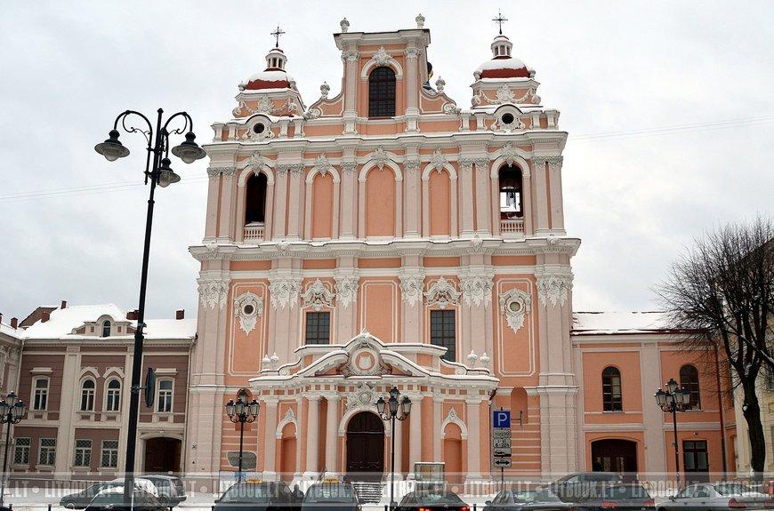 Костёл Святого Казимира, Вильнюс. Кликните, чтобы открыть фотографию в полном размере