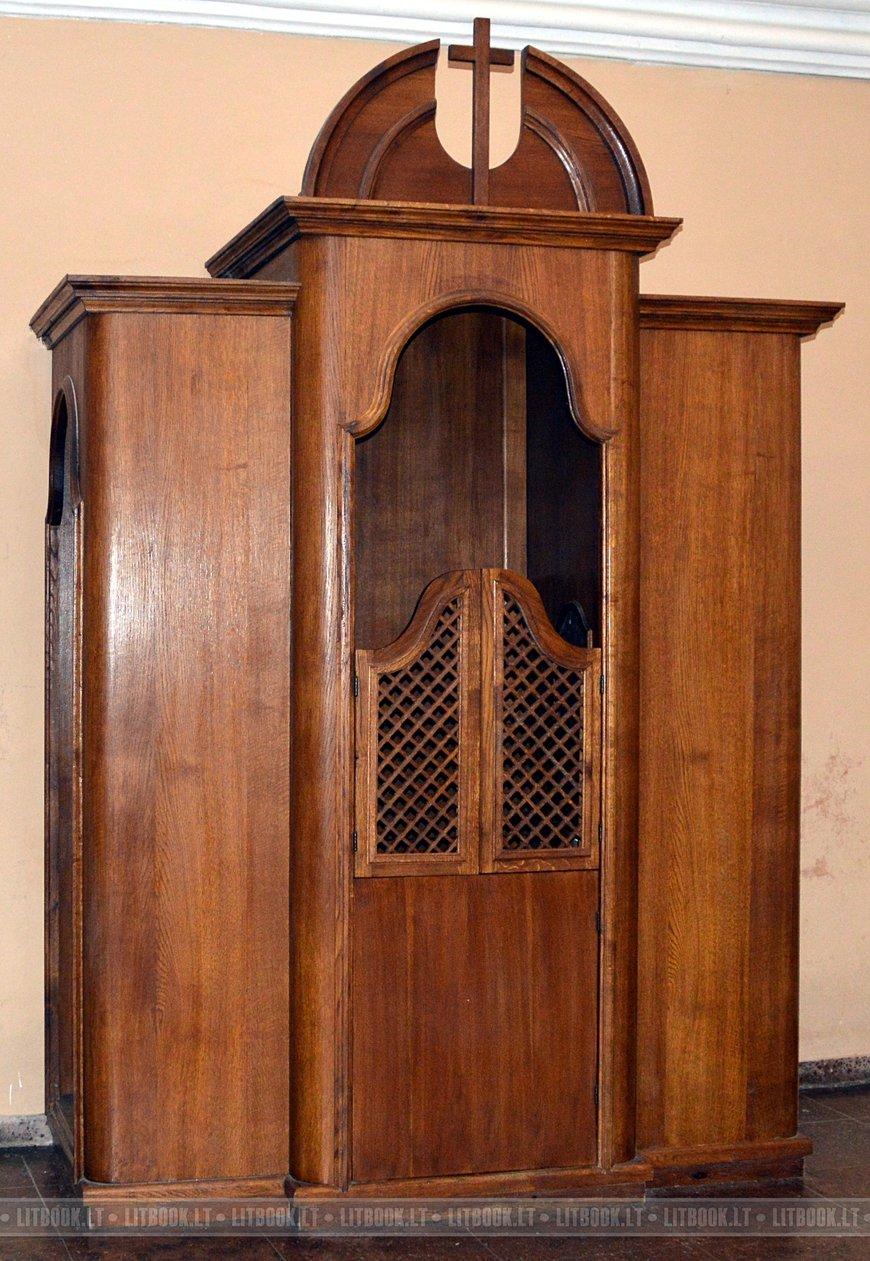 Костёл Святого Казимира в Вильнюсе исповедальня