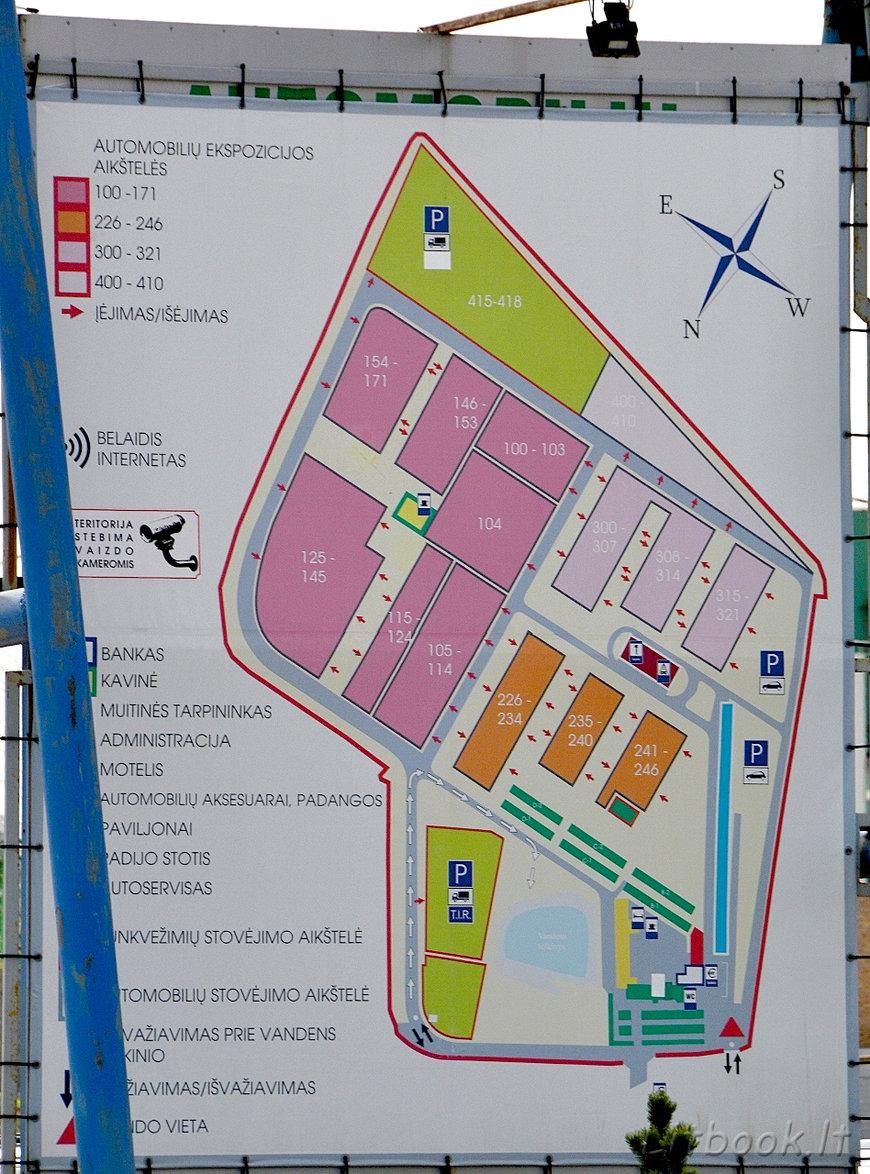 Карта автомобильного рынка Гарюнай
