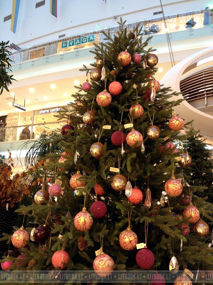 Декорации торгового центра Europa (Европа) в Вильнюсе