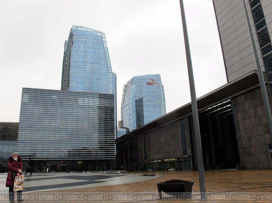 Деловой комплекс зданий на площади «Европа»