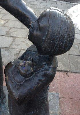 Памятник Цемаху Шабаду, Вильнюс