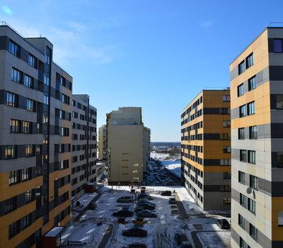 Новостройка Литвы - вид из окна во двор