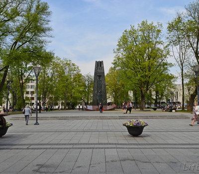 Площадь Кудирки в Вильнюсе
