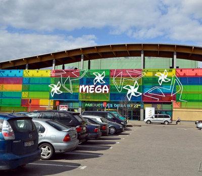 """Prekybos ir laisvalaikio centras """"Mega"""""""