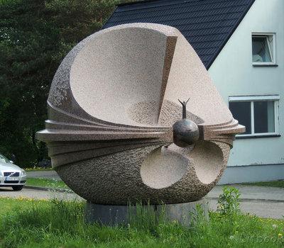 Парк каменной скульптуры Vilnoja Литва