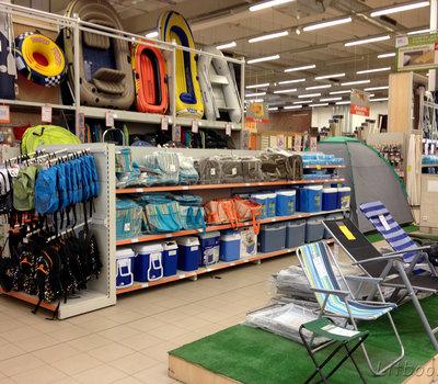 Все для активного отдыха - рюкзаки, термосумки, шезлонги - есть в Сенукае