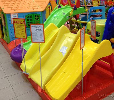 Товары для детей в Сенукай - горки для приусадебного участка