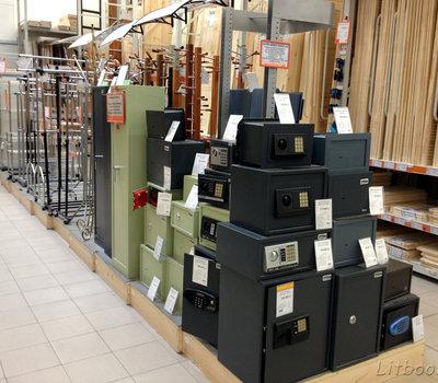 Senukai, сейфы и металлические шкафы