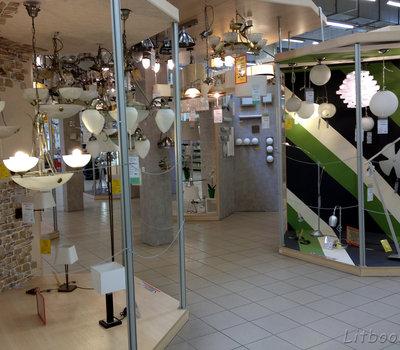Senukai, электробытовые приборы - люстры и светильники
