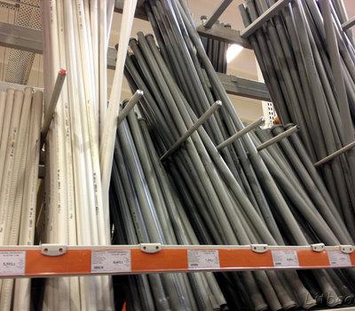 Трубы для водопровода и канализации тоже есть в продаже в Сенукае
