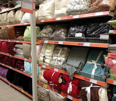 Senukai, большой выбор постельного белья, подушек, пледов, одеял