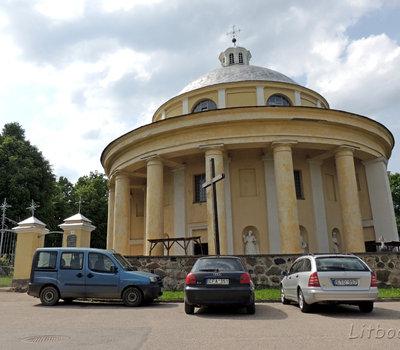 Костел в Судреве, Литва
