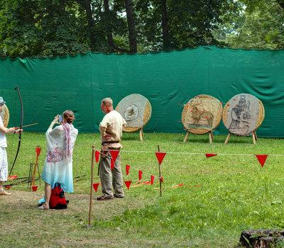 стрельба из лука Литва фото