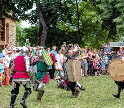 Тракайский замок фестиваль средневековья 2013