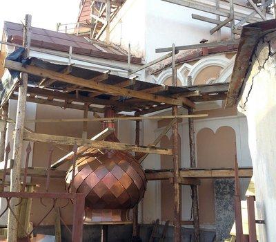 реставрация церкви Тракай Литва фото