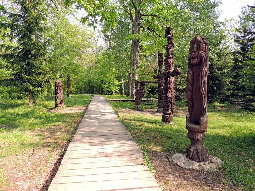 Познавательная тропа Dūkštų ąžuolyno pažintinis takas, Региональный парк Нерис