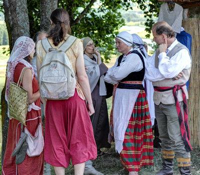 Литовские национальные костюмы фото