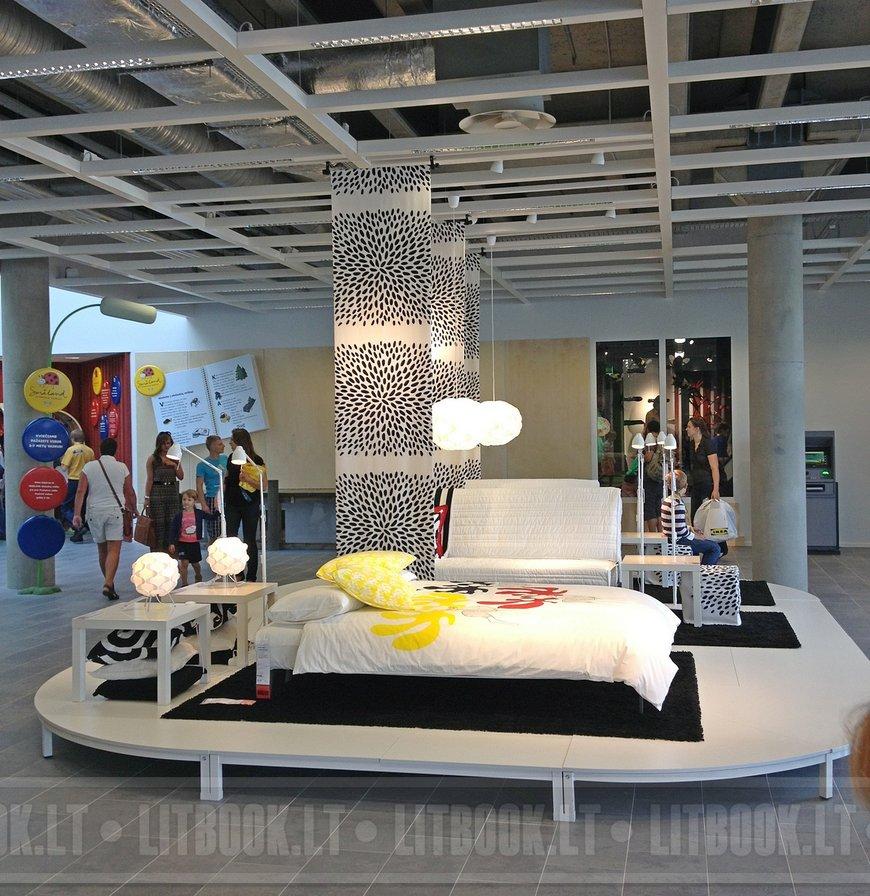 Вильнюс магазин IKEA