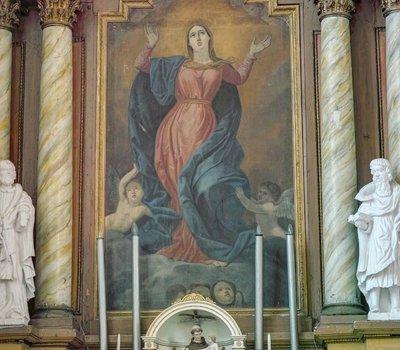 Кернаве Kernavė костел пресвятой Девы Марии