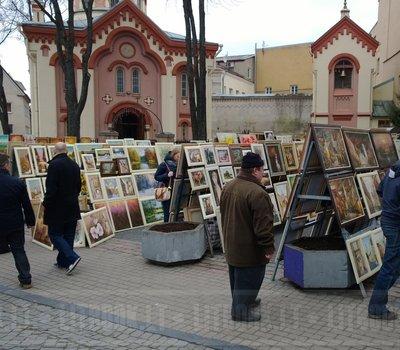 ярмарка Казюкаса в Литве