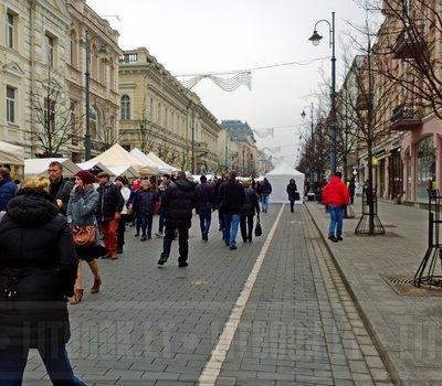 Ярмарка на Масленицу Вильнюс