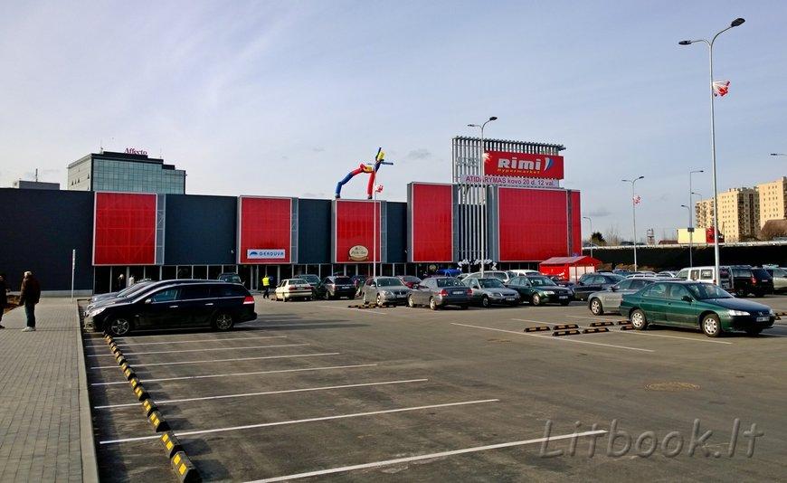 Новый гипермаркет РИМИ в Вильнюсе