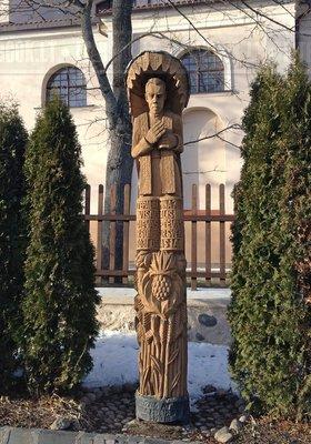 Деревянная скульптура Литвы