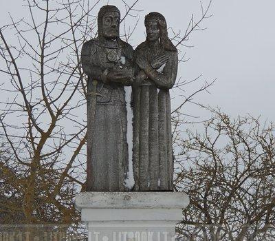 Деревянная скульптура Литвы Тракай