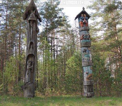 Литовская деревянная скульптура