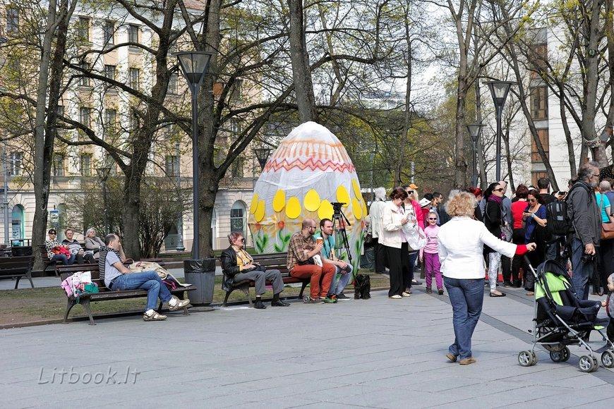 Пасхальные гуляния в Вильнюсе