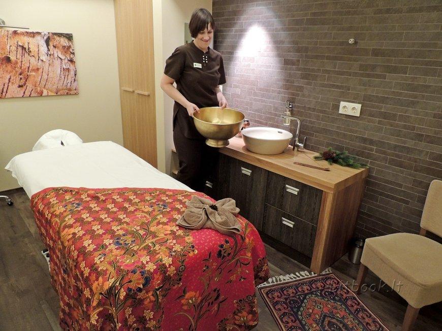 Кабинет для проведения аюрведического массажа