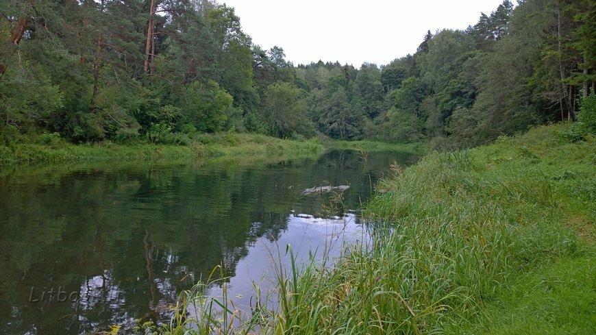 река Швянтойи (Šventoji)