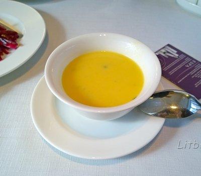 и тыквенный суп-пюре
