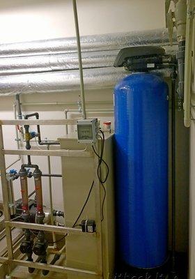 Система подготовки минеральной воды