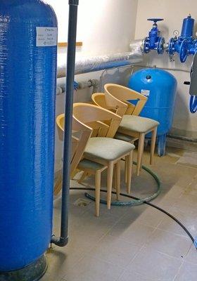 Система подготовки и очистки холодной воды