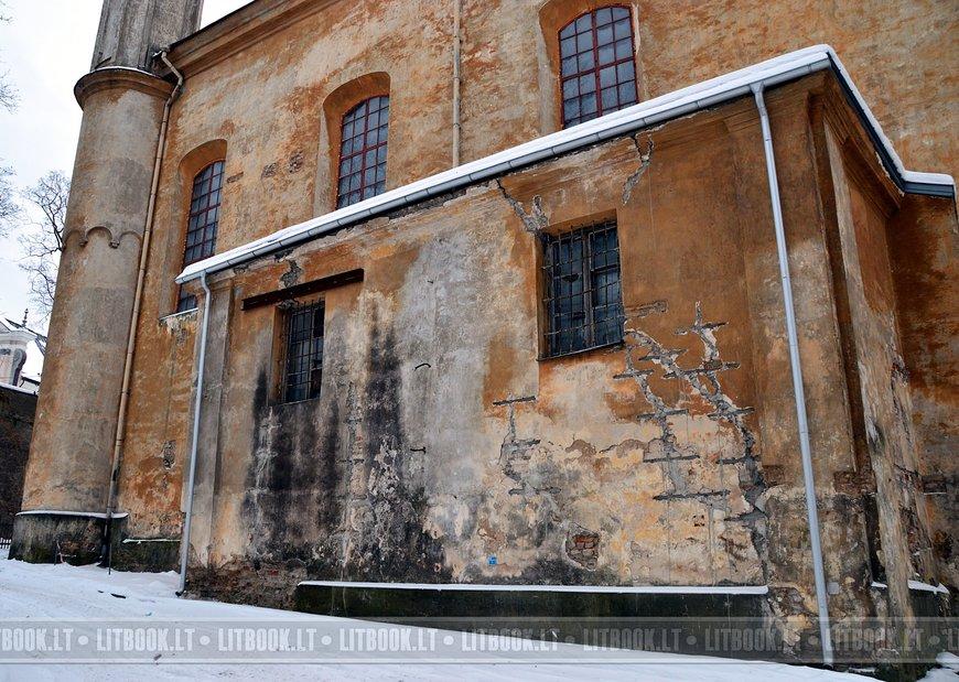 Церковь Святой Троицы и базилианский монастырь в Вильнюсе4