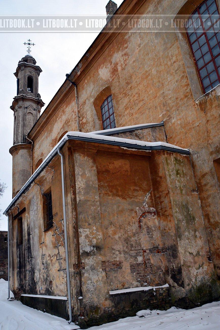 Церковь Святой Троицы и базилианский монастырь в Вильнюсе5