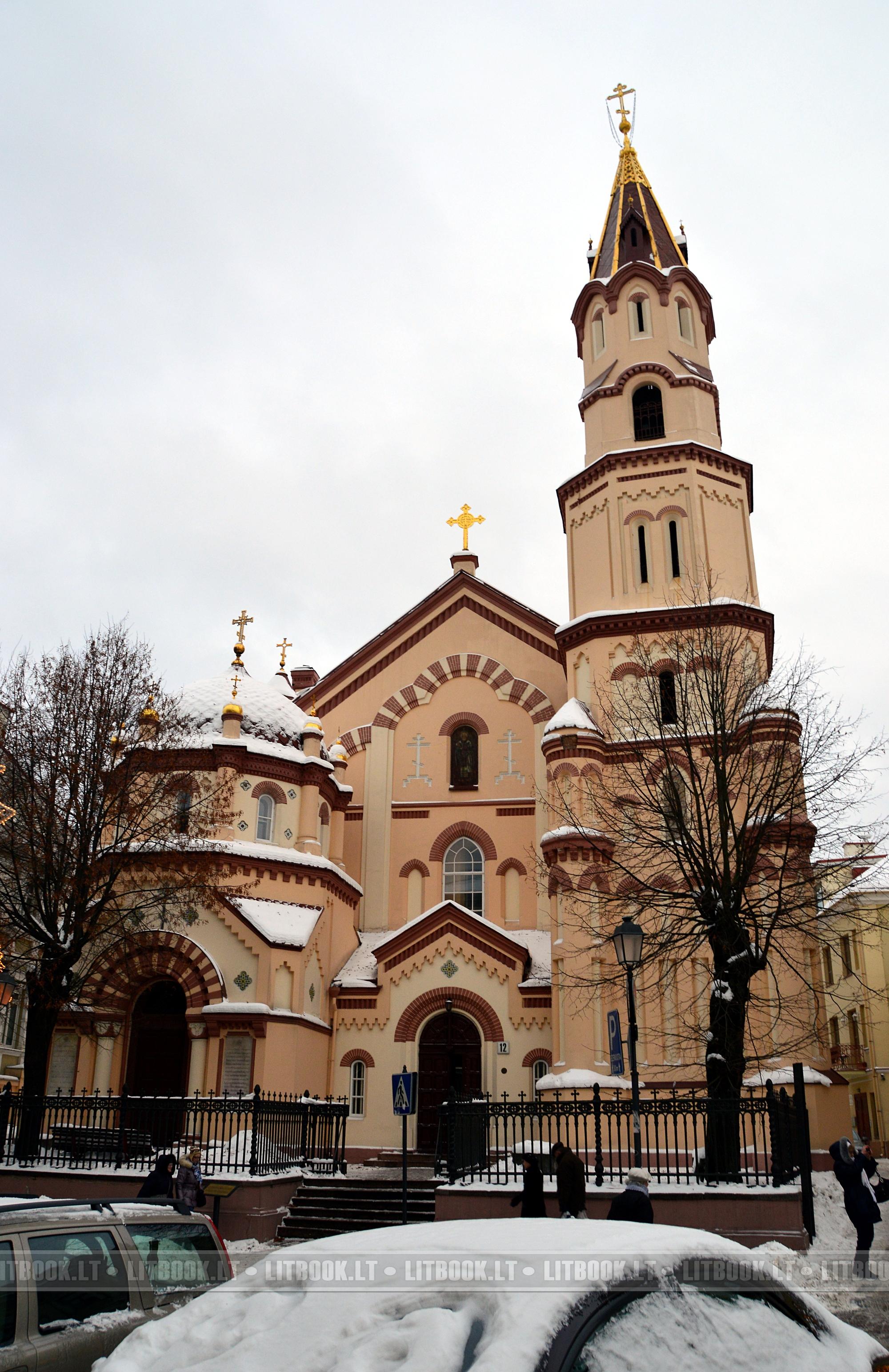Никольская церковь в Вильнюсе (Литва)