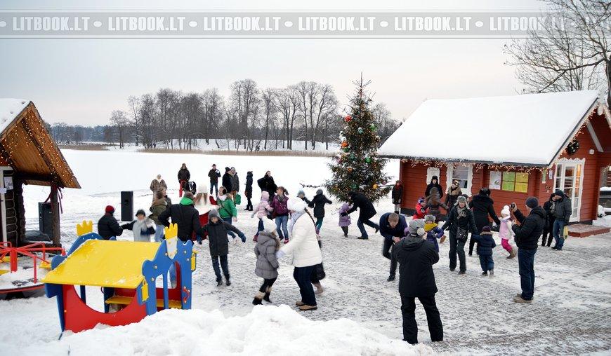 Тракай - город рожденственской сказки