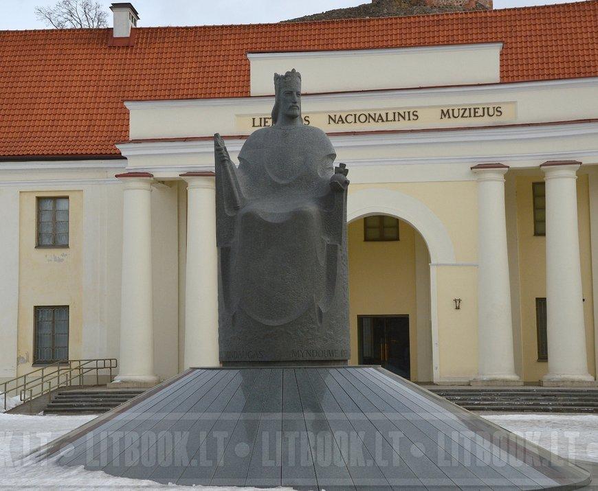 Памятник королю Миндаугасу, Вильнюс