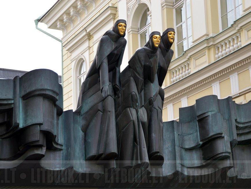 Скульптура Праздник муз, Вильнюс
