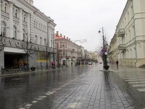 Проспект Гедиминаса. (Весна 2012)