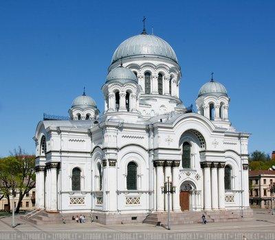 Римско католическая церковь Святого Архангела Михаила город Каунас