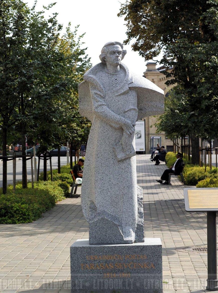 Памятник Тарасу Шевченко, Вильнюс